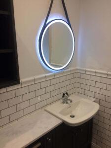 LED period bathroom